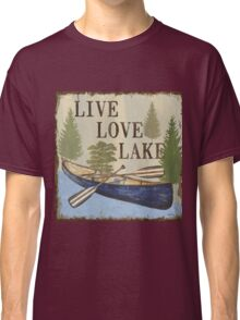 On Lake Time 2 Classic T-Shirt