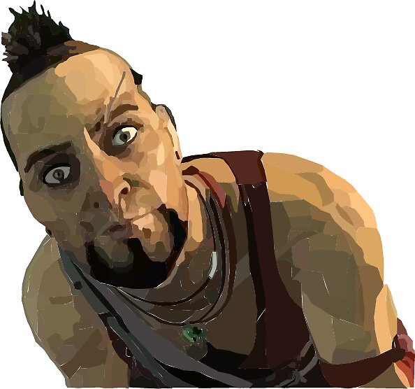 Vaas the crazy man by bobbomb