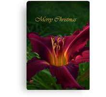 A Holiday Message  Canvas Print
