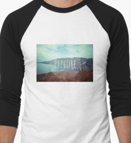 Explore Men's Baseball ¾ T-Shirt
