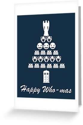 Happy Who-mas by blafdesign