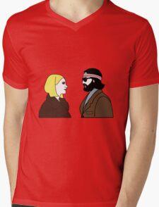 The Royal Tenenbaums Mens V-Neck T-Shirt