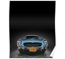 1962 Mercedes Benz 280 SL Poster