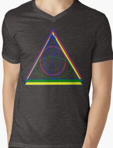 The Cloak, The Ring, and the Wand. Mens V-Neck T-Shirt
