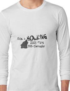 Howling Good Time Long Sleeve T-Shirt