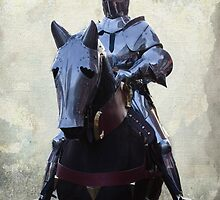 Knight On Horseback by Linsey Williams