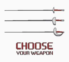 Fencing - Choose your weapon by ruavel