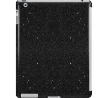 Black & White Majestic Starry Nebula Night iPad Case/Skin