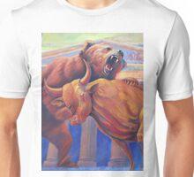 Bear vs Bull Unisex T-Shirt