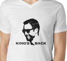 King's Back Mens V-Neck T-Shirt