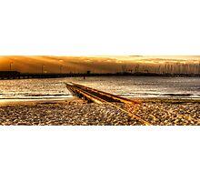 Golden Tracks 1 Photographic Print