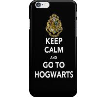 Keep Calm and Go To Hogwarts (Harry Potter) - Iphone Case  iPhone Case/Skin