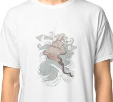 Boat in the storm Classic T-Shirt