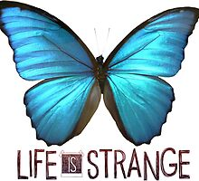 Life is Strange Butterfly by QueenHannahh