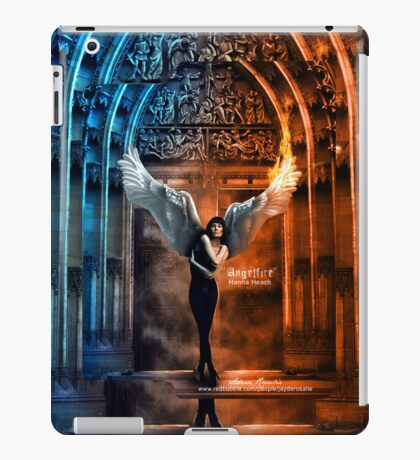Anglefire Artwork Hanna Peach iPad Case iPad Case/Skin