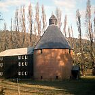 Oast House, New Norfolk, Tasmania—KODACHROME 64 by Brett Rogers