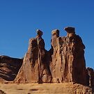 The Three Gossips, Arches National Park by Claudio Del Luongo