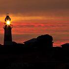 Lighthouse Sunset by fotosic