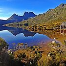 Dove Lake Sunrise Panorama by TonyCrehan