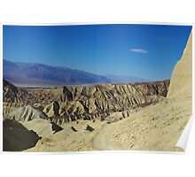Hiking trail, Death Valley Poster