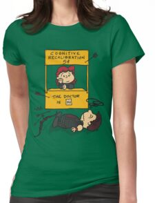 Cognitive Recalibration Womens Fitted T-Shirt