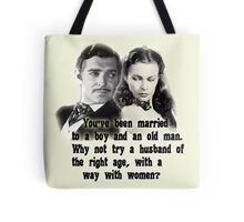 Gone with the wind - Rhett and Scarlet Tote Bag