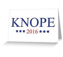 Knope 2016 Greeting Card