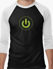 Power on Men's Baseball ¾ T-Shirt