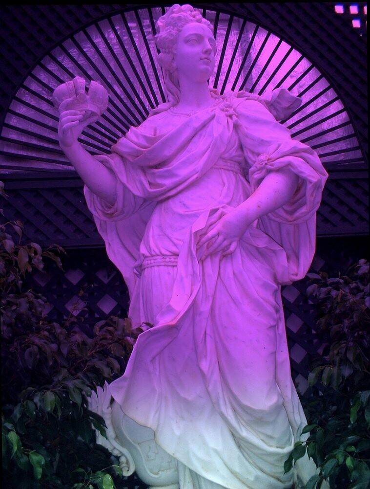 """""""Purple Statue 11""""  by njchip123"""