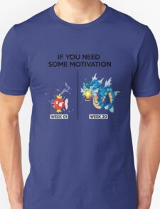 Magikarp Body Transformation (Before and After) - No Roids T-Shirt