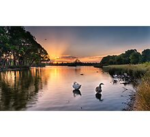 Sunset - Don't be a goose! Photographic Print
