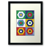 Hex No.6 Framed Print