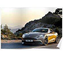 The new Aston Martin Vanquish ... Poster