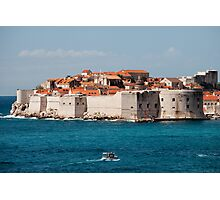 Old City of Dubrovnik by the Sea Photographic Print