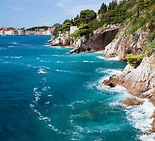 Adriatic Sea Coastline by Artur Bogacki