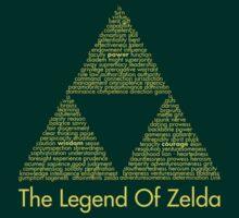 The Legend Of Zelda Triforce by Kamaltmo