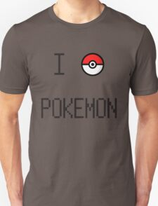 I O Pokemon T-Shirt