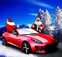 Jaguar F-Type Santa's Secret Sleigh Revealed by ChasSinklier