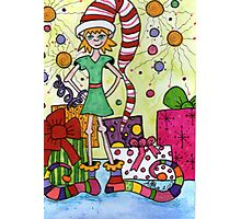 Whimsical Elf Photographic Print