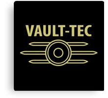 Vault-Tec Fallout 4 Canvas Print