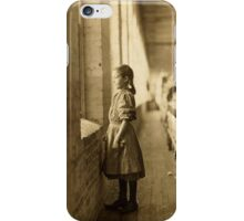 Vintage Photograph of Child Spinner iPhone Case/Skin