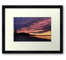 Great Cloud Shapes Framed Print