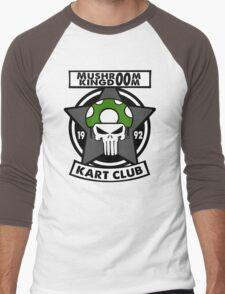 Mushroom Kingdoom Kart Club Men's Baseball ¾ T-Shirt