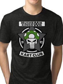 Mushroom Kingdoom Kart Club Tri-blend T-Shirt