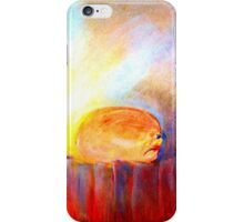 """""""Angry Watermelon"""" by Chip Fatula iPhone Case/Skin"""