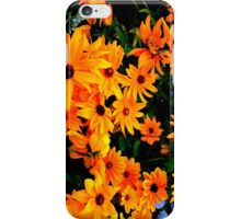 """""""Cluster of yellow & orange Flowers"""" by Chip Fatula iPhone Case/Skin"""