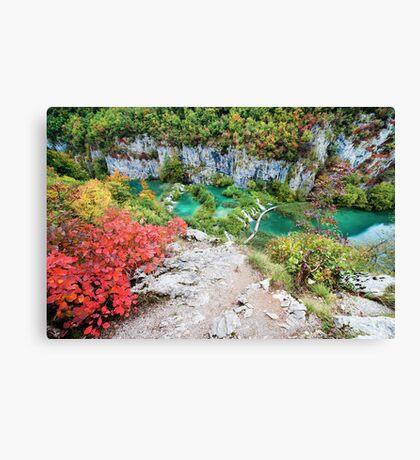 Plitvice Lakes National Park Canvas Print