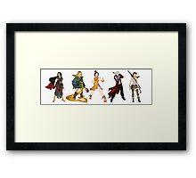 warrior princesses  Framed Print