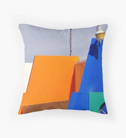 Sint Maarten, N.A. Throw Pillow