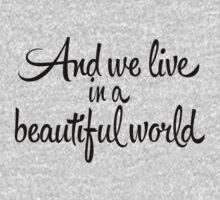 Beautiful World Kids Tee